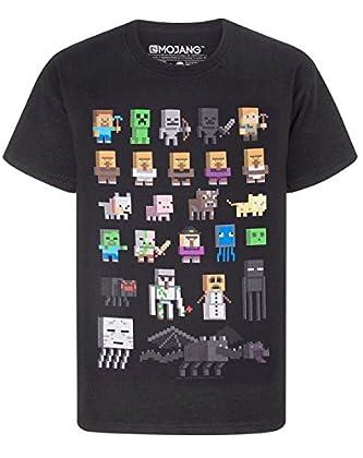 Minecraft - Camiseta para niño - Minecraft - Ne...