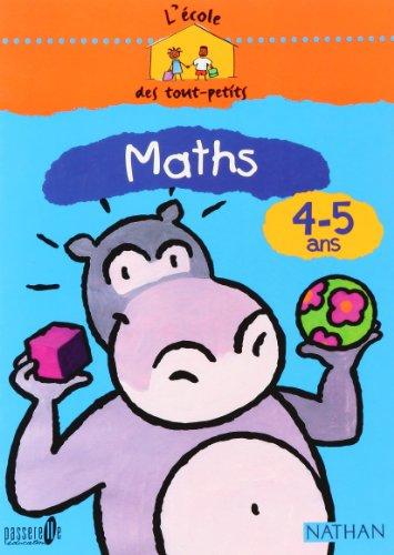 Maths 4-5 ans, Côte d'Ivoire par Collectif