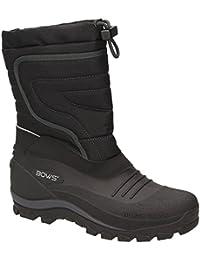 BOWS® -BENTE- Herren Damen Kinder Unisex Schnee Stiefel Winter Boots Schlupf Schuhe gefüttert wasserdicht wasserabweisende