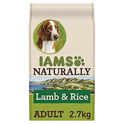 Iams Naturally New Zealand Dog Lamb (Dry Dog Food For Adult Dog with Lamb & Rice), 800 g 1