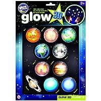 The Original Glowstars Company B8101 - Glow 3-D Stickers - Planets