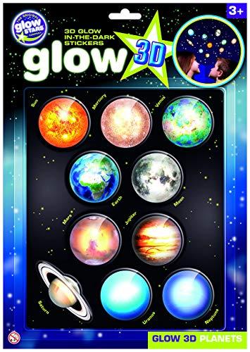 The Original Glowstars - Pegatinas 3D con diseño de...