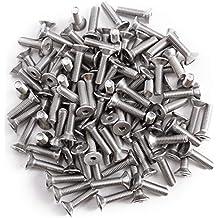 seg/ún la norma DIN 7991 M2,5/x 4/hasta M12/x 150,/con muesca interna hexagonal de acero inoxidable A2 20/unidades de tornillos de cabeza plana avellanada