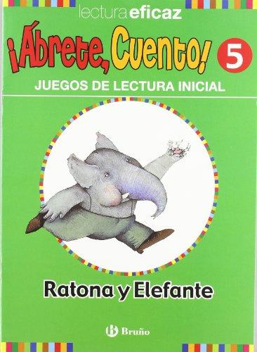 ¡Ábrete, cuento! Ratona y elefante (Castellano - Material Complementario - ¡Ábrete, Cuento!) - 9788421656327