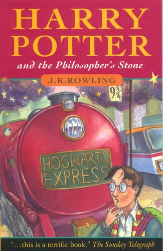 Click for larger image of Harry Potter and the Philosopher's Stone
