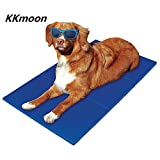 TIROL Cool Mat; Dog Cat Pet cooler Cooling Cool Gel Mat Bed Pad; Pet Cooling Gel Mat Cool Beds Dog Cat Summer Pad Bed (36'x20')