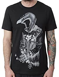 Tee shirt Fox Death By Momentum Noir