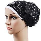 squarex Femme musulmane stretch Turban Chapeau chimio Cap perte de cheveux Foulard Wrap Hijib capuchon