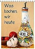 Was kochen wir heute / Planer (Tischkalender 2018 DIN A5 hoch): Ein Küchenplaner mit Obst, Gemüse, Kräutern und Gewürzen (Planer, 14 Seiten ) ... [Kalender] [Apr 01, 2017] Buch, Monika