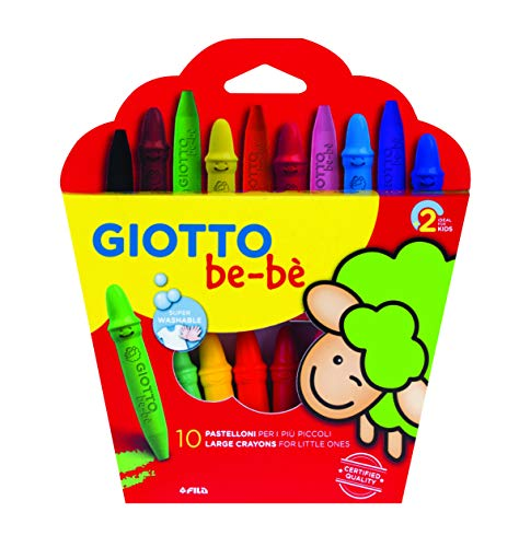 Giotto be-bè 466800 - Estuche 10 súper ceras irrompibles...