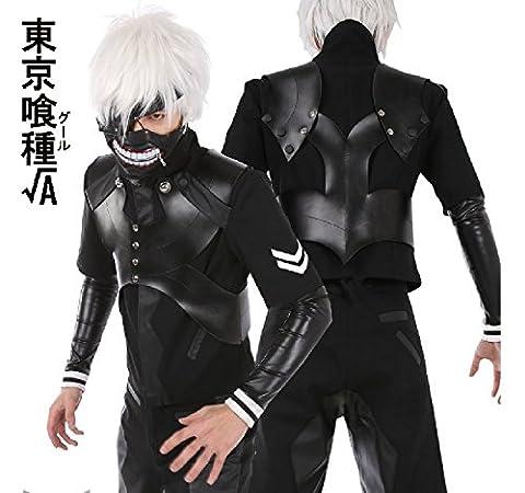 Vivian Tokyo Ghoul 2 Kaneki Ken bataille serrée vestons Vêtements cosplay (comprend masque). taille: M: hauteur 160cm-165cm