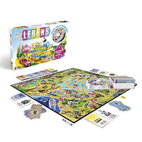 Hasbro Spiele E4304100 Das Spiel des Lebens, Familienspiel, Multicolor