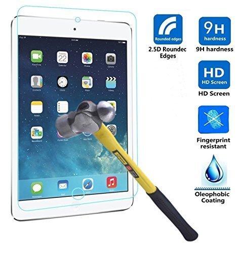 Preisvergleich Produktbild Kamal Star® Tempered Glass Hartglas Schutzfolie für Apple iPad Air / Air 2 / iPad 5 / 6