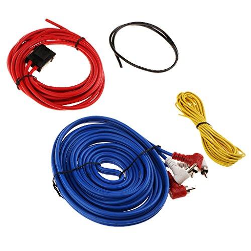 Homyl Auto Audio Subwoofer Verstärker Amp Wiring Sicherungshalter Draht Kabel Kit (Kit Verstärker Wiring Auto)