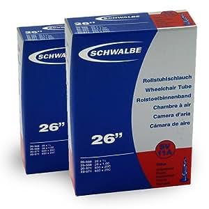 Schwalbe sV11a 20-25 559-571)/(2 pièces valve presta chambre à air avec valve lot de 3 démonte-pneu schwalbe