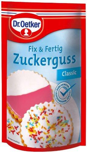 Dr. Oetker - Fix und Fertig Zuckerguss Classic - 125g