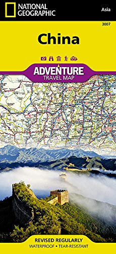 China: NATIONAL GEOGRAPHIC Adventure Maps