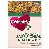 Mrs Crimble's Senza Glutine Salvia E Cipolla Ripieno Mix (170g) (Confezione da 6)