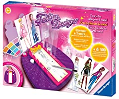 Idea Regalo - Ravensburger- Fashion Designer, Multicolore, 18057