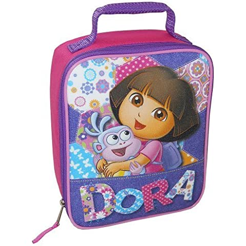 Dora Lunch Bag - Pink and Purple by Global Design Concepts - Dora Lunch Bag