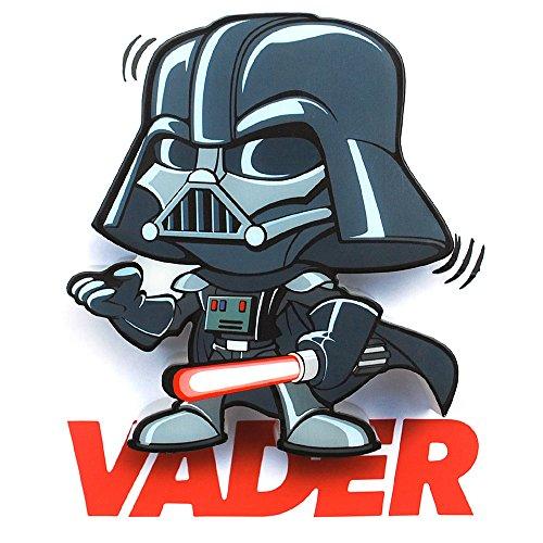 Light 3D FX Licht Star Wars Darth Vader 3D Deco Mini-Sized LED Wandleuchte
