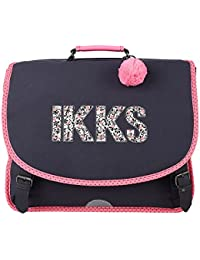 Cartable 41 Noir IKKS Rock
