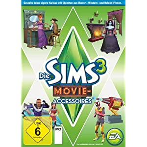 Die Sims 3 – Movie – Accessoires (Add – On)