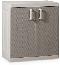 Toomax Kunststoffschrank Rattan Line XL, Grau