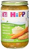 Hipp Pappa Pronta Riso con Carote e Salmone - 6 confezioni da 220 g