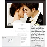 Twilight Breaking Dawn Personalised Wedding Set Gift