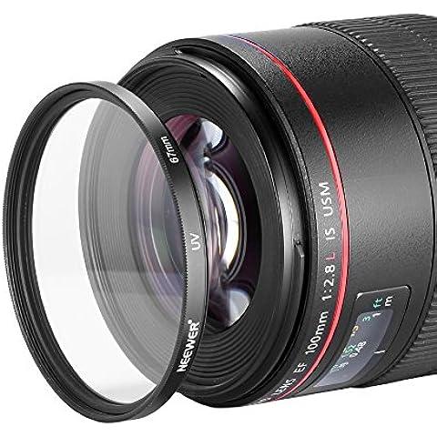 Neewer® 67mm Filtro Ultravioletto UV Protezione per Nikon Canon Sony Fotocamera