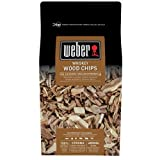 Weber Räucherchips Fire Spice Chips, Whiskey, braun, 30 x 30 x 55 cm, 17627