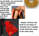 Accu-Ring Accupressure Massage Ring in Beautiful Gift Pouch by Ndc Inc