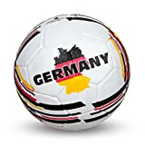 Nivia 1360GE Country Rubber Football, Size 5 (White)