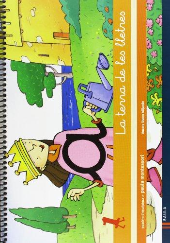 Quadern d'escriptura 1 Infantil La terra de les lletres (Projecte La terra de les lletres) - 9788447925490