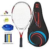Hearthrousy Set di Racchette da Tennis per Bambini per Bambini con Composito Ammortizzatore Manico per Tennis in Corda per Diverse età 19/23/23/25 Pollici