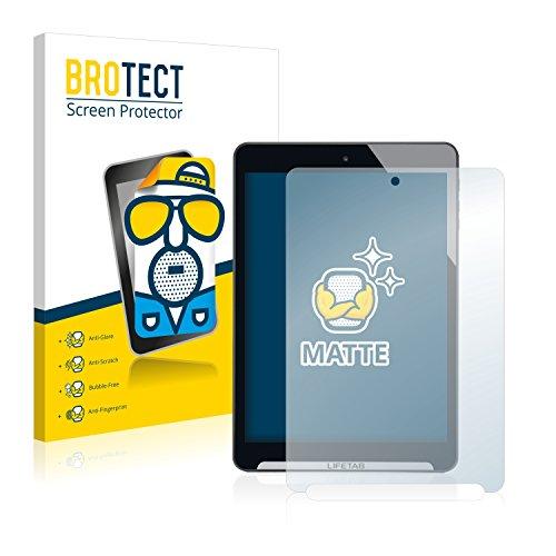BROTECT Schutzfolie Matt kompatibel mit Medion Lifetab S7852 (MD98625) [2er Pack] - Anti-Reflex