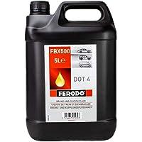 Ferodo FBX500 Liquide de Frein DOT4 4 x 5 L