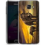 Samsung Galaxy A3 (2016) Housse Étui Protection Coque Éléphant Éléphants Animal à trompe