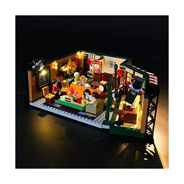 LIGHTAILING Set di Luci per (Ideas Friends Central Perk) Modello da Costruire - Kit Luce LED Compatibile con Lego 21319 (Non Incluso nel Modello) 2 spesavip