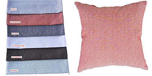 Mauro fodera per cuscino set 2 pezzi - disegno borbonese - misura cm 40x40 - (var.marrone)