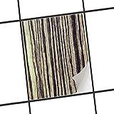 creatisto Küchen-Folie Dekor-Fliesen | Selbstklebende Aufkleber Folie Sticker Badfliesen Badezimmergestaltung | 15x20 cm Design Motiv Schnurstracks - 1 Stück