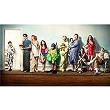 Modern Family Poster On Silk <62cm x 35cm, 25inch x 14inch> - Cartel de Seda - 8FF477
