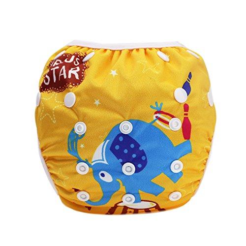 Preisvergleich Produktbild Hi Sprout Unisex Snap wiederverwendbar Baby saugfähig Swim Windeln verstellbar ONE SIZE
