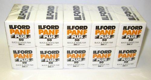 Ilford Pan F + 35 mm Schwarz & Weiß 36exp , 10 Stück