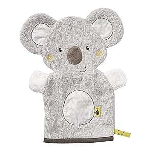 Fehn 064186 Waschhandschuh Koala, Australia, grau