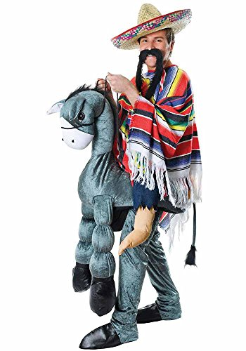 Bristol Novelty AC564 Hey Amigo Mexican Ride On Costume (Dragon Komfort-hose)