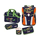 Scout - Sunny - Schulranzen Set 5 tlg. - Dino Expedition