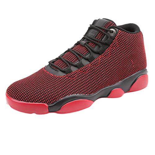 Chaussures De Basketball pour Homme,LANSKIRT Chaussure De Securité Homme Basket Securite Femmes Militaire Protection Travail Confortable Baskets Respirantes en Mesh