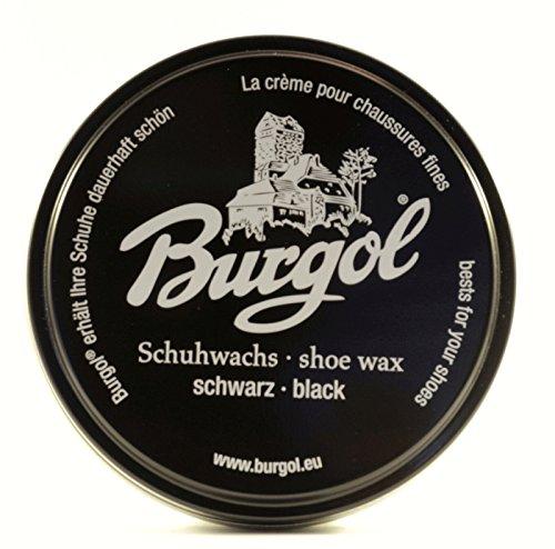 Burgol Schuhwachs (schwarz) -